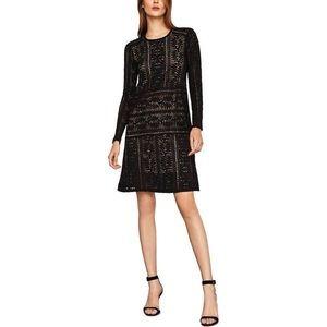 BCBGMAXAZRIA Lace Black Dress size XS